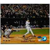 Cal Ripken Jr. Autographed 8x10 Last-at-bat w/ 2632 Consecutive Games Insc