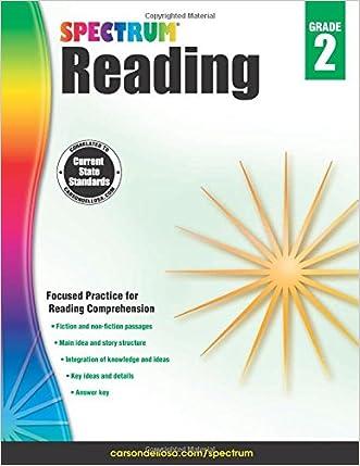 Spectrum Reading Workbook, Grade 2 written by Spectrum
