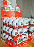 Kinder Surprise Chocolate Egg 20g - Pack of 72