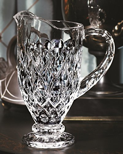 Circleware CG Society Legacy Glass Pitcher, 37.2 Ounce, Limited Edition Glassware Drinkware Water Beverage Carafe (Water Pitcher Glass 2 Gallon compare prices)