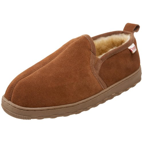 Tamarac by Slippers International Men's Cody Sheepskin Slipper,Allspice,10 M