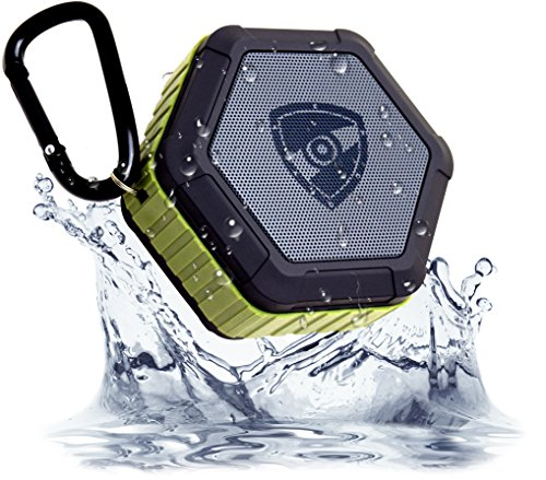 Read About Zettaguard ZS100 Portable Wireless Outdoor Shower Bluetooth 4.0 Speaker with IP67 Waterpr...