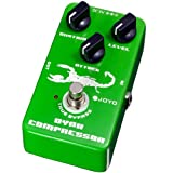 Joyo Jf-10 Dynamic Compressor Guitar AMP Effect Pedal True Bypass