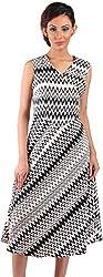 Mabyn Women's A-Line Dress (SSSSD13 _M, Black, M)
