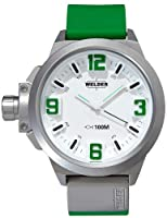 Welder by U-boat K22 Oversize Steel Mens Watch Green Rubber Strap K22-903 from Welder