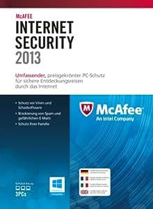 McAfee Internet Security 2013 - 3 User (inklusive kostenlose Upgrademöglichkeit auf Version 2014)