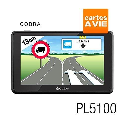 Cobra-Pl5100-Gps-Camion-Europe-Logiciel-Truckmate-De-Snooper