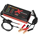 Pulsetech Xtreme Auto Charger, Black/Red