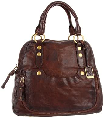 Frye Elaine Vintage Shoulder Bag,Dark Brown,One Size