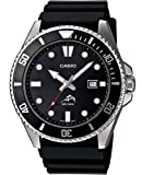 Casio #MDV106-1AV Men's Duro 200 Resin Band Analog Dive Watch