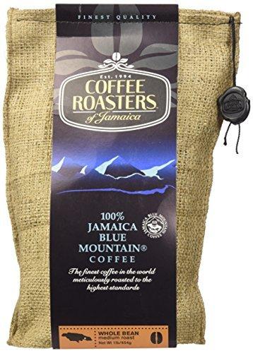 Coffee Roasters of Jamaica - 100% Jamaica Blue Mountain Coffee (16oz Whole Beans) by Coffee Roasters of Jamaica