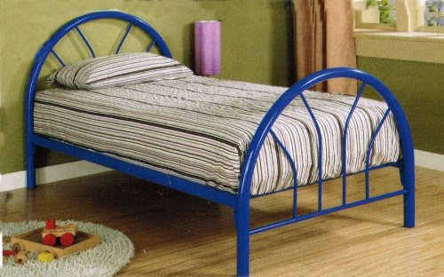 Twin Iron Bed Frame 759 front