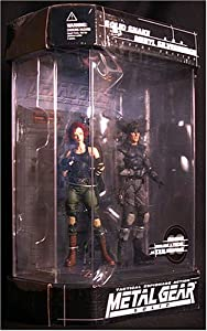 Metal Gear Solid Special Edition Solid Snake & Meryl Action Figure 2-pack