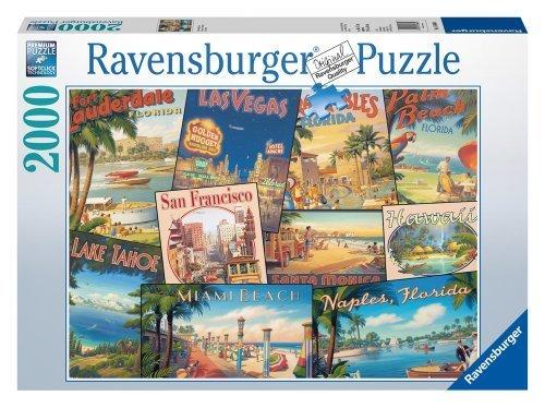 Awardpedia Vintage Vacations 2000 Piece Puzzle