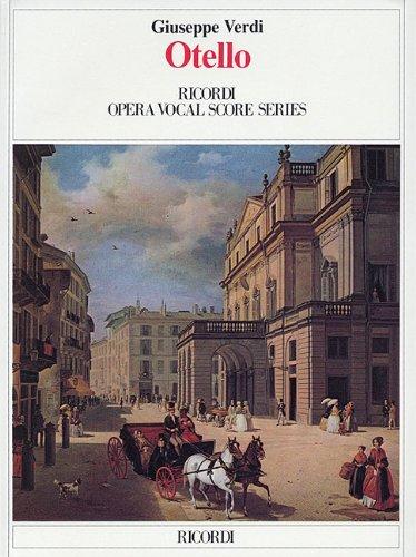 Otello - Verdi - Vocal Score - Libro