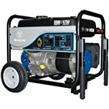 Westinghouse WH5500, 5500 Running Watts/6750 Starting Watts, Gas Powered Portable Generator