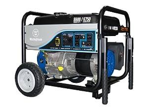 Westinghouse WH5500 Portable Generator, 5500 Running Watts/6750 Starting Watts