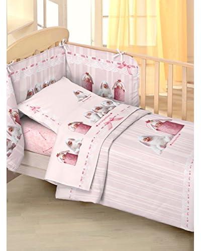 Anne Geddes Kinderbettwäsche Ag Pink Bunnie rosa