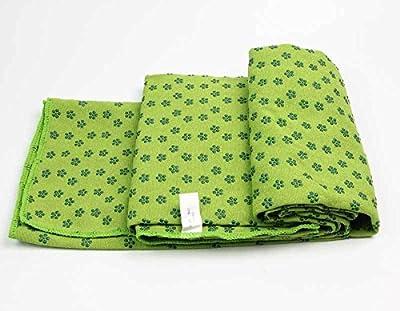Green Yoga Towel Non-slip drape Soft Slip Resistant Eco-Friendly Yoga Mat Hot