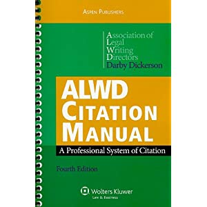 Citation writing styles citation guide interpreting managing alwd citation manual a professional system of citation by association of legal writing directors and darby dickerson ccuart Image collections