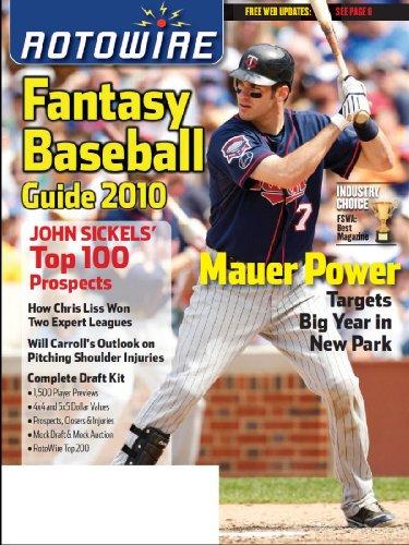 RotoWire Fantasy Baseball Guide 2010