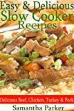 Easy & Delicious Slow Cooker Recipes (Delicious Beef, Chicken, Turkey and Pork Recipes)