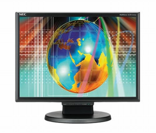 Nec Multisync Lcd195Wxm-Bk 19 Inch Wide Screen 700:1 5Ms Dvi Lcd Monitor (Black)