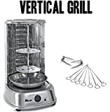 Electric Shawarma Kebab Doner Machine Vertical Broiler Grill Gyro Rotisserie DIY