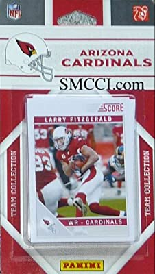 2011 Score Arizona Cardinals Factory Sealed 13 Card Team Set. Players Include: Adrian Wilson, Beanie Wells, Darnell Dockett, Dominique Rodgers-cromartie, Jay Feely, Larod Stephens-howling, Larry Fitzgerald, Steve Breaston, Tim Hightower, Patrick Peterson,
