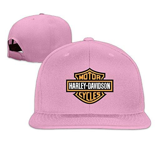 k-fly2-adjustable-harley-davidson-logo-baseball-caps-hat-unisex-pink