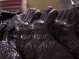 7 Individually Boxed Dark Chocolate Easter Bunnies Measures 3.5 Inches