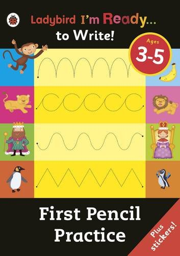 First Pencil Practice: Ladybird I'm Ready to Write Sticker Activity Book (First Writing Practice)