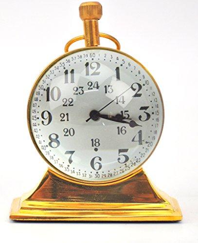 Antique Nautical brass Desk clock