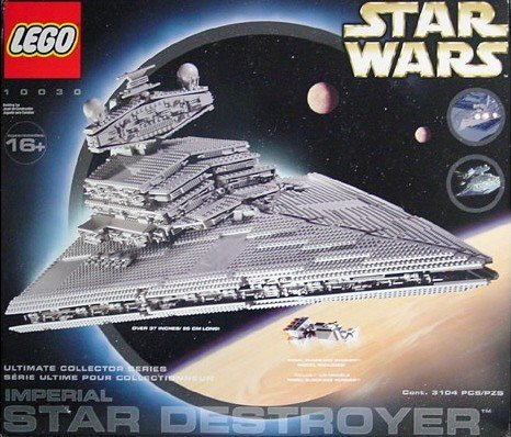 LEGO Imperial Star Destroyer - Ultimate Collector's Series 10030