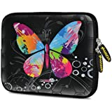 Amzer 10.5 Inch Neoprene Sleeve Eastman Butterfly For Samsung Galaxy Note 10.1 SM-P6010, Google Nexus 10, Apple...
