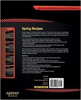 Spring Recipes: A Problem-Solution ApproachPaperback– November 20, 2014