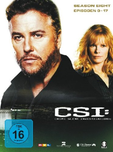 CSI: Crime Scene Investigation - Season 8.2 (3 DVDs)