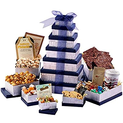 Broadway Basketeers Supreme Birthday Celebration Gift Tower