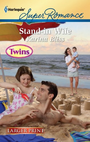 Stand-in Wife (Harlequin Super Romance (Larger Print)) [Large Print]
