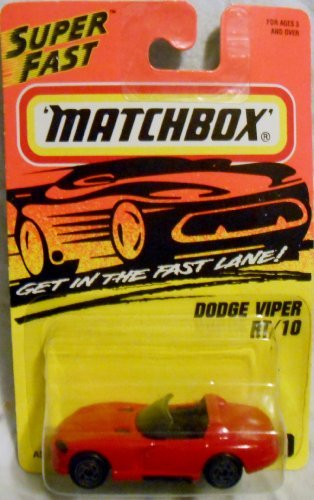 Matchbox 1996 Dodge Viper RT/10 # 10.