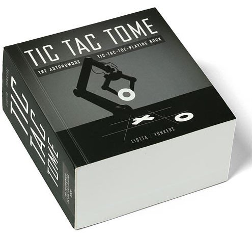 Tic Tac Tome the Autonomous Tic-tac-toe-playing Book