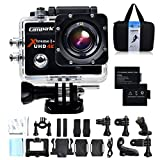 Campark® 4K 30fps WiFi Ultra HD Waterproof Sports Action Camera,