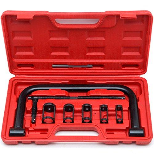 Valve Spring Compressor C Clamp Service Kit Auto