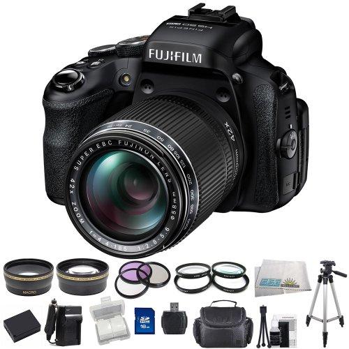Fujifilm FinePix HS50EXR Digital Camera SSE Bundle