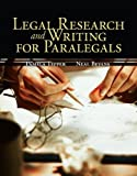 img - for Legal Research & Writing for Paralegals 1st (first) Edition by Tepper, Pamela, Bevans, Neal published by McGraw-Hill/Irwin (2008) book / textbook / text book