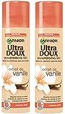 Garnier  - Ultra Doux Extrait de Vanille - Shampooing Sec Cheveux gras - Lot de 2