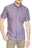 Pure Cotton Short Sleeve Double Striped Shirt [T25-6944B-S]