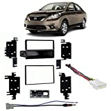 Fits Nissan Versa 2012-2013 Multi DIN Stereo Harness Radio Install Dash Kit