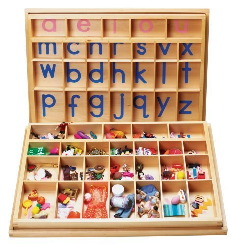 Montessori Alphabet 131 Miniature Language Objects & 2