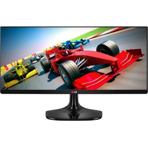 "Lg Electronics - Lg 25Um55-P 25"" Led Lcd Monitor - 21:9 - 5 Ms - Adjustable Display Angle - 2560 X 1080 - 16.7 Million Colors - 250 Nit - 5,000,000:1 - Uw-Uxga - Hdmi - Displayport - 31 W - High Glossy Black - T V S D, Epeat Gold, Rohs, Reach, Tco Certifi"